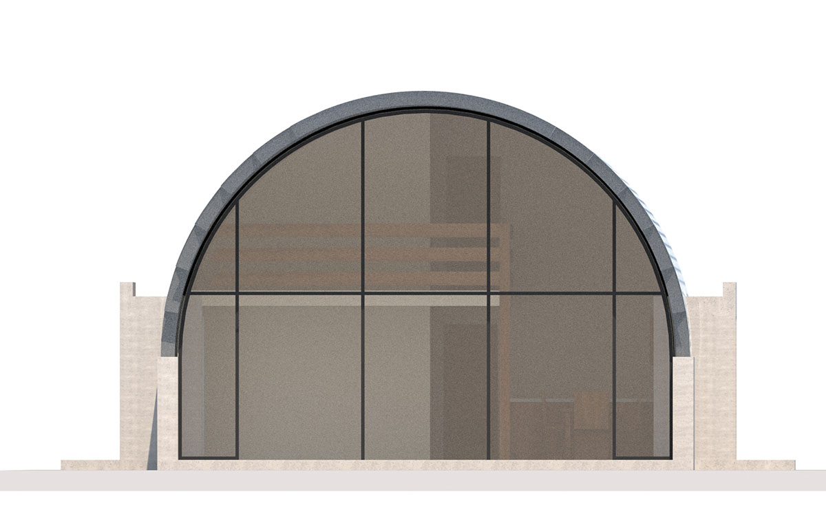 Quonset house plans for Quonset hut home designs