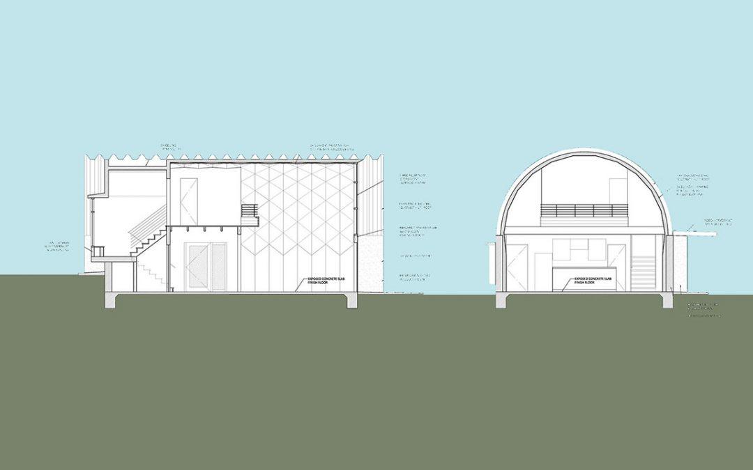 Quonset House Design: Loft Guest House