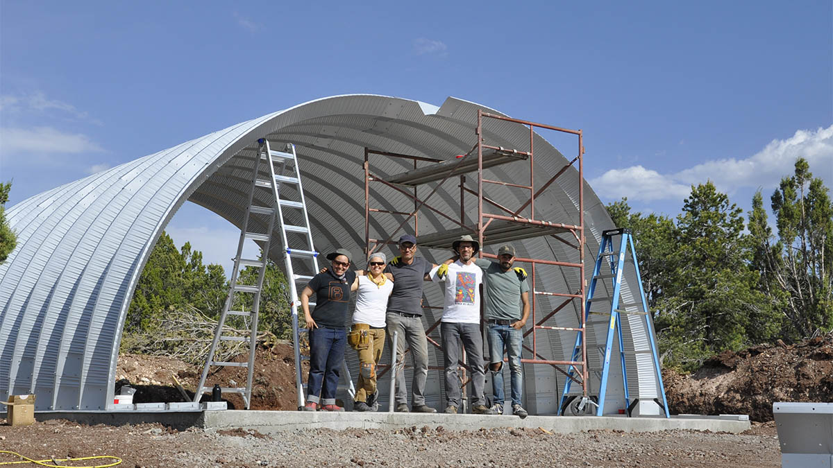 Quonset hut quonsetpalooza clever moderns for Quonset hut