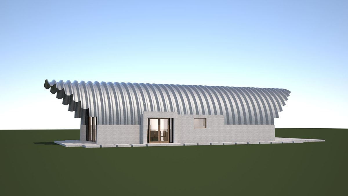 Building A Quonset Hut House Clever Moderns