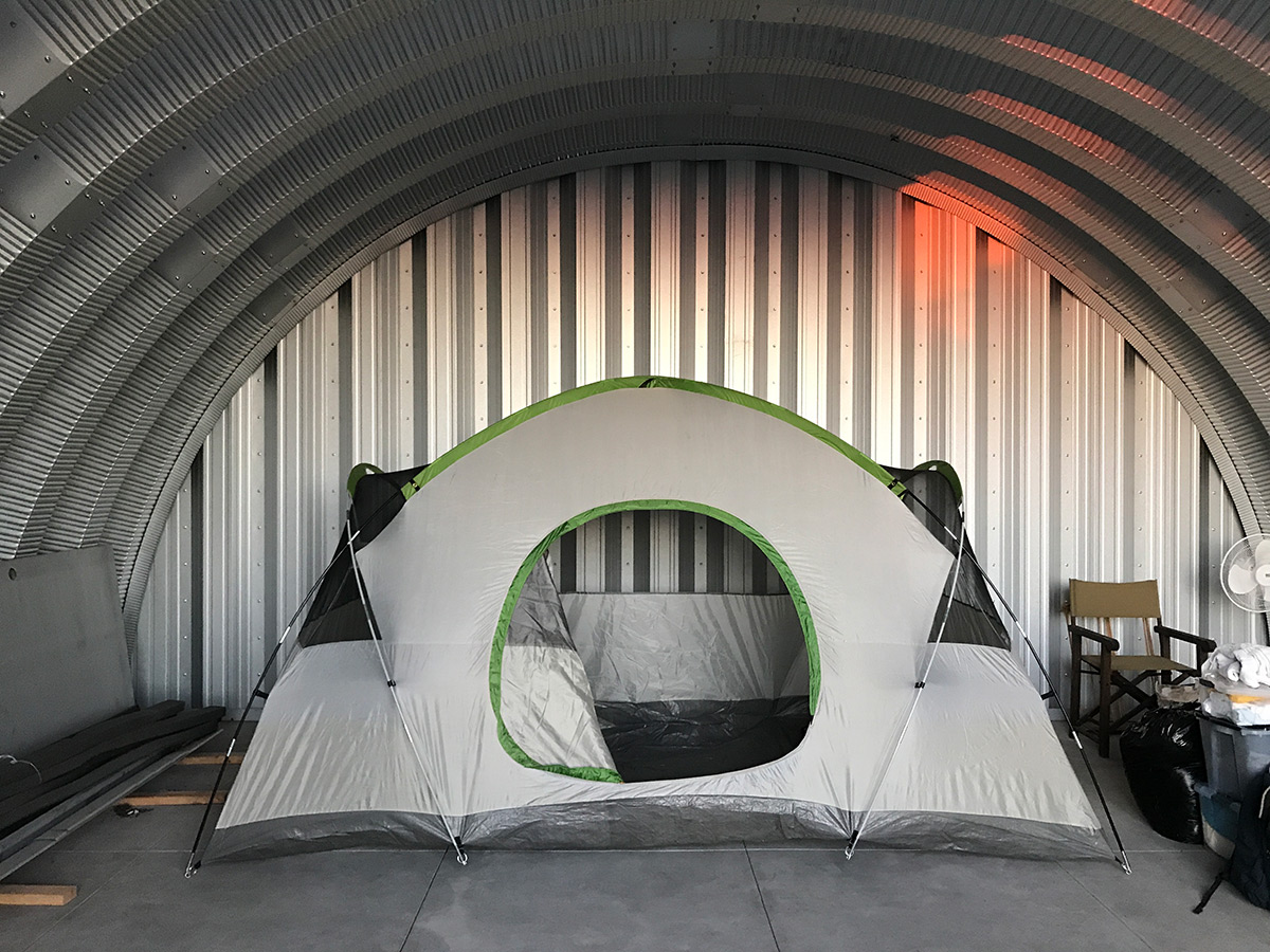 Wood Framing In A Metal Quonset Hut Clever Moderns