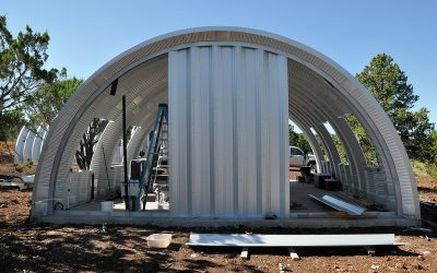 Wood Framing in a Metal Quonset Hut