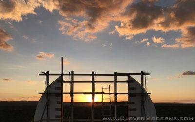 Quonset Hut House Build: ICF Base Walls