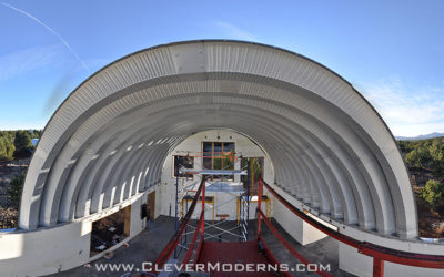 Panorama of the Quonset Guest House Arches
