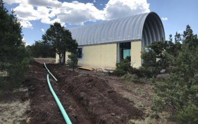 Loft House Septic System Connection